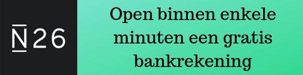 Gratis bankrekening openen