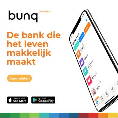 Goedkoopste bankrekening Bunq rekening openen