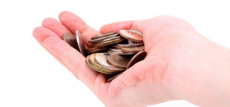 Contant geld storten op een privérekening