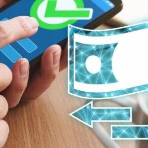 Geld overmaken met creditcard naar andere rekening